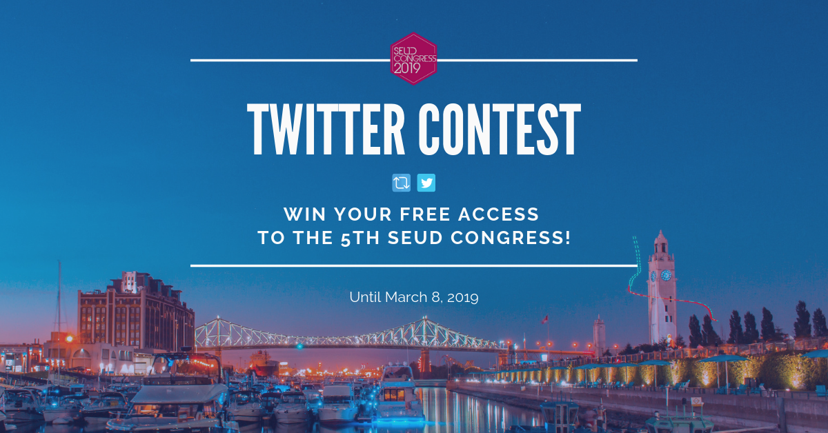 Win your free access to the 5th SEUD Congress in Montreal!